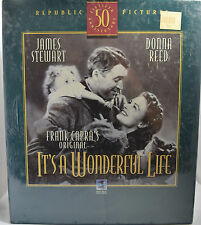 It's a Wonderful Life (50th Anniversary Vhs Deluxe Edition) James Stewart *New*