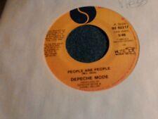 "Depeche Mode People are people Canada press  PROMO  7"" 45rpm"