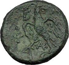 PHILIP V King of Macedonia 221BC  Ancient  Greek Coin HERO PERSEUS Eagle i39485