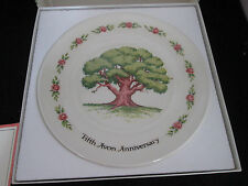 Avon Great Oak Bicentennial Plate In Box Representative Anniversary Award