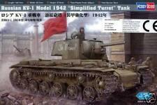 Hobby Boss KV-1 Model 1942 einfacher Turm Ätzteile 1:48 Modell-Bausatz NEU OVP