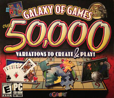 Video Game PC Galaxy of Games 50,000 Variations to Create and Play eGames