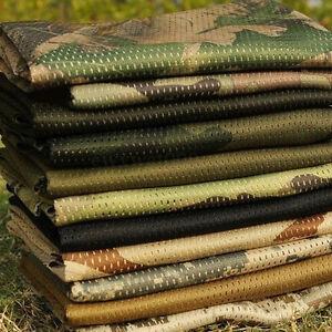 Men Tactical Military Train Army Camo Camp Scarf Wrap Face Veil Net Mesh Scarves
