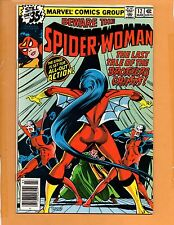 Spider-Woman #12 Vs. Brother Grimm Mar 1979 VF+