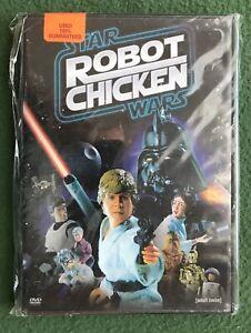 Robot Chicken Star Wars DVD Cartoon Network 2008 Adult Swim Farce Darth Vader