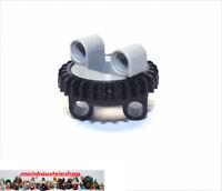 Lego® 99009 / 99010 Technik kleiner Drehkranz Turntable Hellgrau / Schwarz NEU