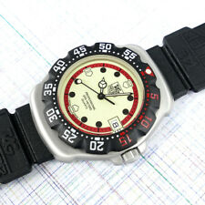 TAG Heuer Midsize Formula 1 Lumi Dial 371.513 Black Strap, New Bezel & Battery