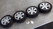 4x Autec Alufelgen 16 Zoll für VW PASSAT 3C + DUNLOP Reifen 205/55R16 91H 6mm