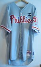2015 Jonathon Papelbon Phillies Game Jersey SLB Patch MLB Authenticated