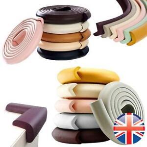 *UK Seller* Baby Safety Cushion Soft Foam Guard 4 Corner / 2M Edge Protector