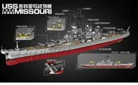 XINGBAO USS Missouri Battleship Building Blocks New in  Box 2631 PCS Free Ship