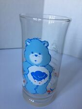 1983 Care Bear Pizza Hut Glass Grumpy Bear