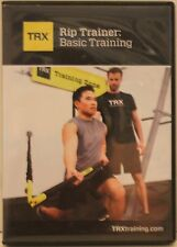 TRX Rip Trainer Basic Training workout exercise fitness DVD Pete Holman