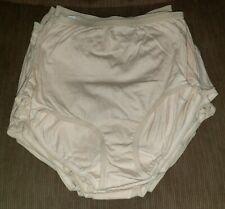 20 Pr. Vtg.100% Cotton Panties Size 5-6 Nwot Tan/Yellow irregulars) *No Return*