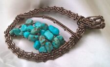 Handmade Turquoise Natural Stone Fine Necklaces & Pendants