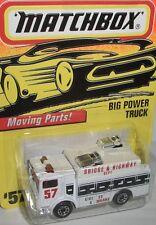 Matchbox - BIG POWER TRUCK - white/graphics - #57/75-1996