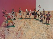 "23 Vintage 1965 action figurines 3"" Romans , Pirates, Vikings Hand Painted"