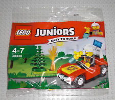 LEGO Juniors 30338 - Feuerwehr Auto / Fire Car - Feuerwehrmann Löschauto Polybag