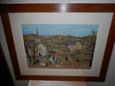 """WILL MOSES BEAUTIFULLY FRAMED/SIGNED ARTIST PROOF #25/35 """"WEDDING IN THE HILLS"""""""