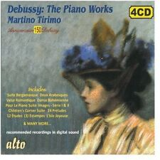 Martino Tirimo, C. Debussy - Piano Works [New CD] Boxed Set