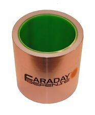 "Copper Foil Wrap Tape 4"" x 30ft - EMI EMF Shielding, Conductive Adhesive"