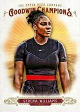 Serena Williams 10 2018 Upper Deck Goodwin Champions