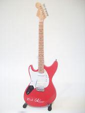 Guitare miniature Fender Mustang Kurt Cobain Nirvana