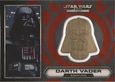 "Star Wars Chrome Perspectives - #1 of 30 Gold Helmet Medallion ""Darth Vader"""