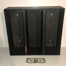 Laserline CD90 Wall Mount Tabletop 90 CD Storage Holder Case Rack VG Condition