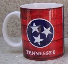Coffee Mug Explore America Tennessee State Flag NEW 11 ounce cup with gift box