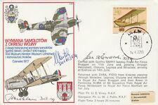 Rare Signed Spitfire Exchange Poland Signed 3 Polish Battle of Britain Pilots
