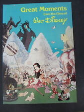 Great Moments from the Films of walt Disney Oversized book