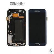 Pantalla LCD Samsung Galaxy S6 Edge G925f azul negro 28/1-2