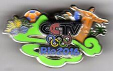 RIO 2016. OLYMPIC GAMES. MEDIA PIN. CCTV.