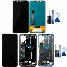 For Xiaomi Mi 8 LCD Display Touch Screen Digitizer Assembly Replacement Frame