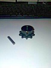 Minibike jackshaft sprocket 10 Tooth # 40 3/4'' shaft go kart minibike