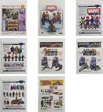 Art Asylum & Dst MiniMates Promo Posters & Retailer Sales Sheets! Marvel-Bsg-Sf!