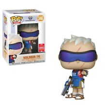 FUNKO POP OVERWATCH SOLDIER 76 GRILLMASTER SDCC 2018 EXCLUSIVE VINYL FIGURE
