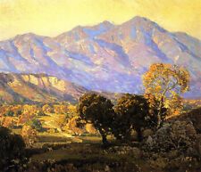 Canyon Mission Viejo, Capistrano  by Edgar Payne   Giclee Canvas Print Repro