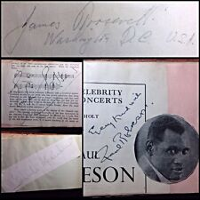 1930's UK Album Signed by Rare Celebrity Autographs During The Queens Coronation