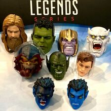 Marvel Legends Head Tom Holland Bro Thor Thanos Hulk Super Skrull BAF -UPICK