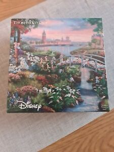Disney thomas kinkade jigsaw puzzle