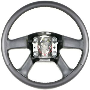 OEM GM Leather Steering Wheel Silverado Sierra Tahoe Escalade Trailblazer Envoy