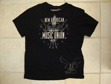 American Eagle Bob Dylan The Black Keys The Roots Tour 2008 Black T Shirt L