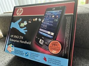 HP iPAQ 214 Enterprise Handheld Win 6.0 624MHz Used Great Con No Reserve Price