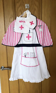 Childrens Nurse/Doctor Fancy Dress Outfit 7-8 Years
