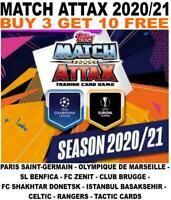 MATCH ATTAX 2020/21 20/21 CHAMPIONS LEAGUE BASE - SCOTLAND/ REST EUROPE/ TACTICS