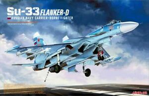 Russian Navy Carrier-Borne Fighter Su-33 Flanker-D model kit 1/48