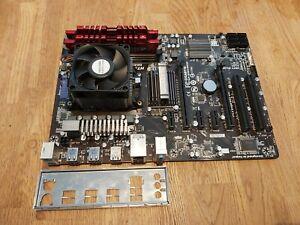 Gigabyte GA-970A-DS3 Motherboard Combo AMD FX 6300 6 core cpu 8GB Ripjaws RAM