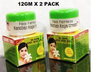 Kanchan kaya Ayurvedic Skin whitening Cream 12gm (Pack of 2)